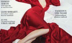 《五十度灰》女主达科塔拍摄性感写真大片
