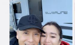 甄子丹和巩俐亲密自拍,二人首度合作《花木兰》