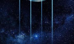 """科幻电影《流浪地球》双11海报 地球""""钱包""""被掏空"""