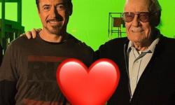 """钢铁侠""""小罗伯特·唐尼悼念斯坦·李:安息吧"""