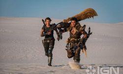 《怪物猎人》电影新剧照曝光 猎人肩扛大剑,穿梭沙漠
