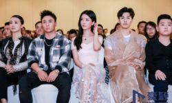 《金禅降魔》发布会上海举行 90后女主刘亦彤超抢镜