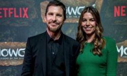 《森林之子毛克利》印度举行首映礼 贝尔携妻合影
