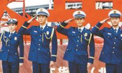 黄晓明、杜江演绎消防英雄