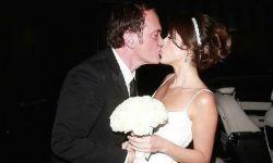 恭喜!恭喜!鬼才导演昆汀结婚了,新娘小20岁