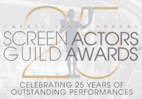 2018第25届美国演员工会奖提名揭晓 库珀与贝尔争影帝