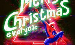 口碑爆棚!《蜘蛛侠:平行宇宙》发圣诞海报预告