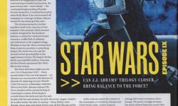 《星战9》时间线曝光 承接《最后的绝地武士》