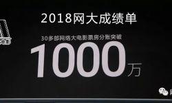 2018网大成绩单:超30部网大票房分账突破1000万(附榜单)