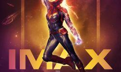 《惊奇队长》发布IMAX专属海报 布丽-拉尔森冲出天际