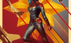 《惊奇队长》曝杜比版海报 全新超级英雄横空出世