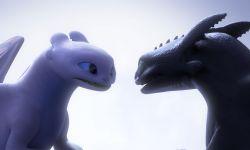 《驯龙高手3》没牙仔光煞情人节有爱互动疯狂撒糖