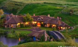新西兰霍比屯,《指环王》与《霍比特人》的取景地,真童话世界