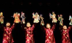 木偶总动员舞台频现上戏木偶专业学生,快来看彭昱畅的学弟学妹们是如何心灵手巧!