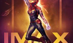 电影《惊奇队长》破国内IMAX三月开画纪录