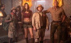 巨石强森电影《勇敢者游戏2》开拍,大长腿女星腹肌抢镜