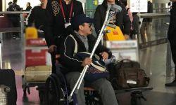 吴京膝盖再次重伤,国外紧急治疗回国后,直奔剧组!