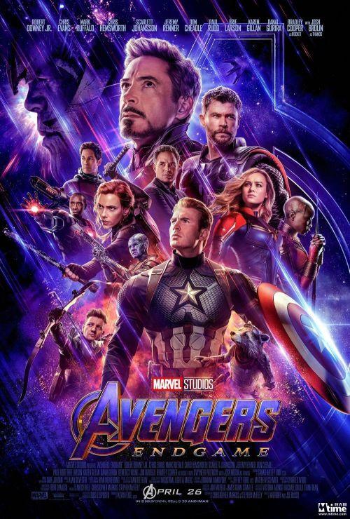 《复仇者联盟4》美版海报