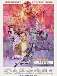 昆汀·塔伦蒂诺导演第九部电影《好莱坞往事》手绘海报曝光