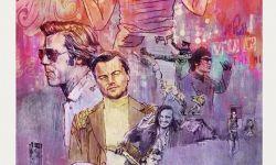 昆汀电影《好莱坞往事》曝特别版海报 惊现全员漫画风