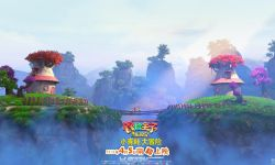 3D/2D动画电影《青蛙王子历险记》发布森林版场景海报