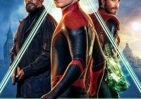 蜘蛛侠携手酷叔叔 电影《蜘蛛侠:英雄远征》发新海报