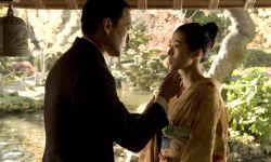章子怡渡边谦拍《哥斯拉2》被恶搞,14年前的接吻镜头惊现片场