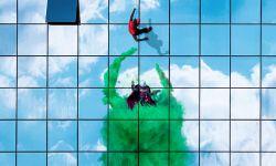 电影《蜘蛛侠:英雄远征》艺术海报充满想象力