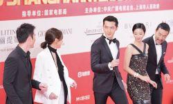 电影《南方车站的聚会》亮相上影节 胡歌廖凡红毯飙舞