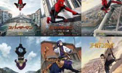 神还原!《蜘蛛侠2》与《黄金神威》联动海报曝光