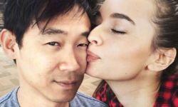 《海王》导演温子仁宣布订婚 晒出与女友热吻照