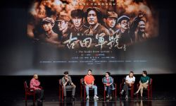 电影《古田军号》主创走进中央戏剧学院 胡兵角色转型获认可