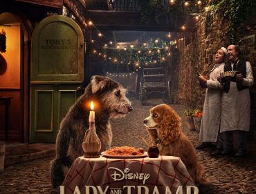 重现经典吃意面场景 ,迪士尼真狗版《小姐与流浪汉》首发预告