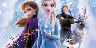 冒险之旅即将启程,《冰雪奇缘2》曝日版海报