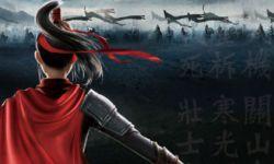 背挂披风,手持长剑    动画电影《木兰:横空出世》2020年春季上映