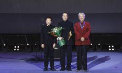 第三届平遥影展开幕 谢飞贾樟柯为张艺谋颁发荣誉