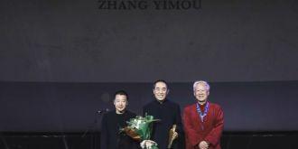 第三届平遥国际影展开幕,谢飞&张艺谋&贾樟柯四五六代导演罕见同框