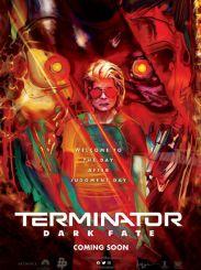 科幻动作电影《终结者:黑暗命运》发布艺术海报,酷感十足
