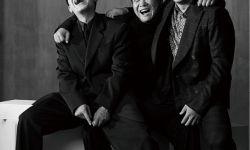 三个男人一台戏!申奥执导黑色幽默喜剧《受益人》发布黑白风写真