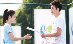 首部网球爱情电影《触网情深》媒体探班,徐海乔赖雨濛对手戏引期待