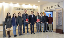 上海電影學院與電影特效技術領域知名企業就產學研深入合作達成共識