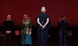 章子怡亮相东京电影节闭幕式  中国影片获艺术贡献奖