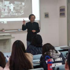 """香港学者何思颖讲授""""香港电影:东西、古今、南北的磨合"""""""