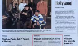 好莱坞权威周刊《Variety》(综艺)杂志头版报道 移动电影院北美版发布