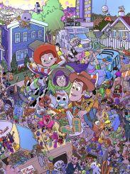 《玩具總動員2》北美公映20周年,皮克斯發布紀念圖