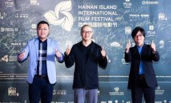 電影《詩人》亮相海南島國際電影節 導演劉浩等主創亮相紅毯
