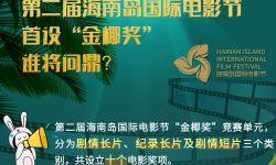 """第二届海南岛国际电影节首设""""金椰奖"""" 谁将问鼎?"""