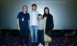 """《少年与海》海南岛国际电影节展映小主演现场""""任性""""接受称赞"""