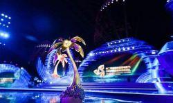 海南岛国际电影节群星闪耀 NEC双色激光点亮椰岛夜空