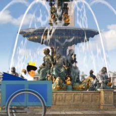 《迪丽丽的奇幻巴黎》发海报 世纪名人共战巴黎危机